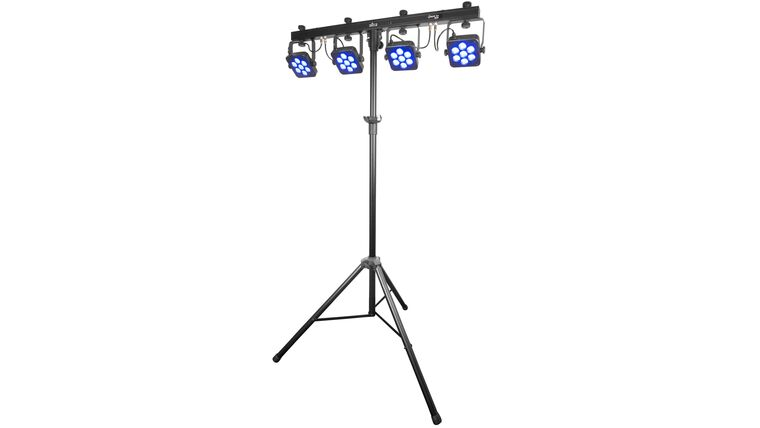 Picture of a Tri-Bar Dance Floor Lights