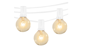 Image of a 100' White String Lights (12'' spacing)