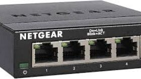 Image of a Net Gear 5-Port Ethernet Switch