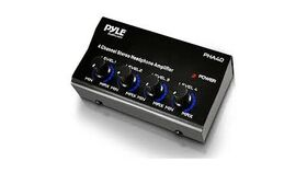 Image of a Pyle 4 Ch. Headphone Stereo Amplifier (LA)