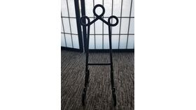 Image of a Black Table Easels