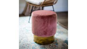 Image of a Mia Pink Pouf