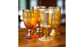 Image of a Amber Goblets