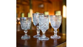 Image of a Clear Goblets