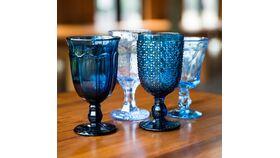 Image of a Blue Goblet