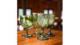 Image of a Green Goblets