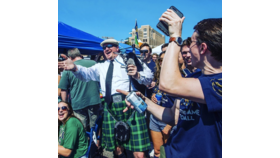 Image of a Bagpipe Performance