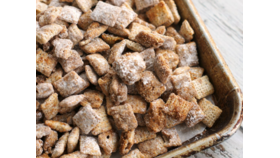 Image of a Churro Chex mix