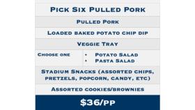 Image of a ND Pulled Pork Platter