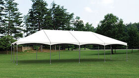 Image of a 30' x 60' Frame Tent Hip Ends
