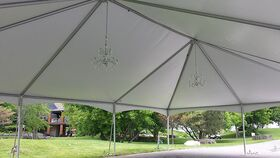 30' x 45' Frame Tent Hip Ends image