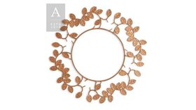 Image of a Wire Laurel Leaf Charger Plate Copper