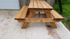 Image of a 6' Picnic Table