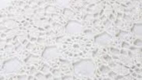 Image of a Table Runner Lace White
