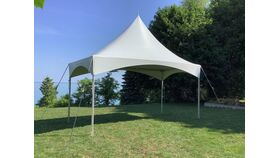 Image of a 10' x 20' High Peak & Sides Frame Tent