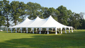 Image of a 40' x 80' Pole Tent
