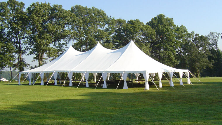 Picture of a 40' x 80' Pole Tent