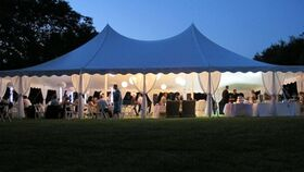 Image of a 40' x 60' Pole Tent
