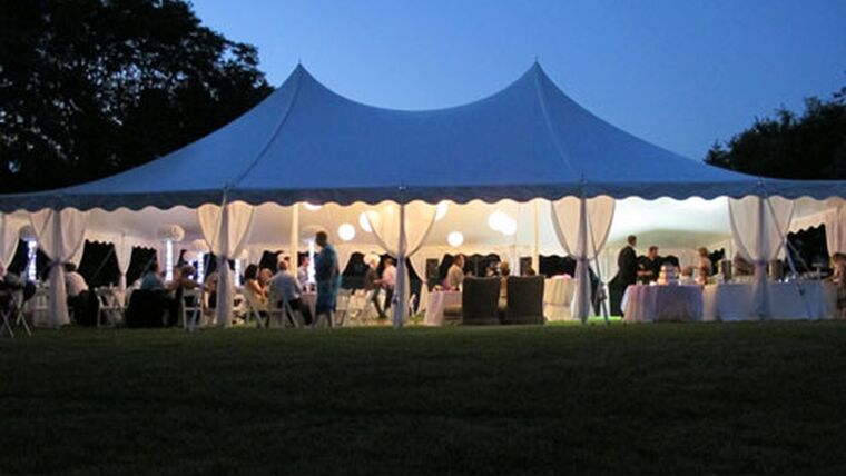 Picture of a 40' x 60' Pole Tent