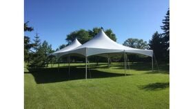 Image of a 30' x 60' High Peak & Sides Tent