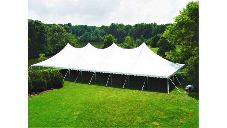 Picture of a 40' x 100' Pole Tent