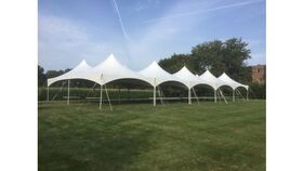 Image of a 40' x 100' High Peak & Sides Tent