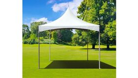 Image of a 10' x 10' High Peak & Sides Frame Tent