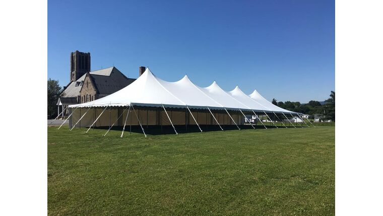 Picture of a 40' x 120' Pole Tent