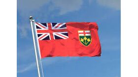 Image of a Flag Ontario Small