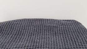 Image of a Black Knit - Squared Pattern (2019-6)