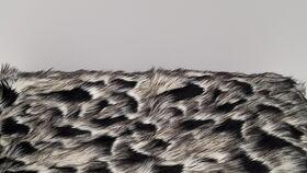 Image of a Black & White Fur - Animal Print (2019-15)
