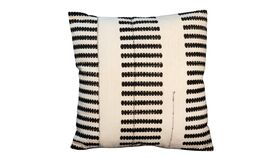 Image of a Black Fetch Pillow