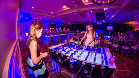Image of a LED Foosball Table