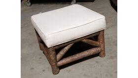 Image of a Rustic Natural Forrest Ottoman