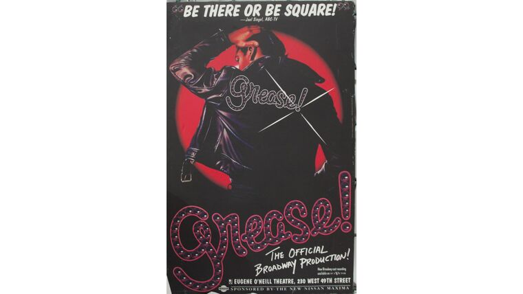 """Picture of a """"Grease"""" Hanging Canvas"""