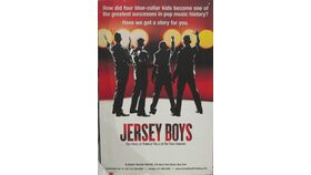 "Image of a ""Jersey Boys"" Hanging Canvas"
