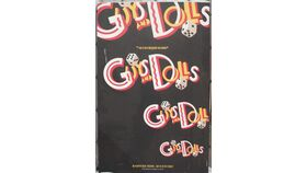 "Image of a ""Guys and Dolls"" Hanging Canvas"