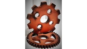 """Image of a 10"""" Steampunk Faux Gear"""