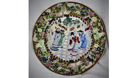 "Image of a 10"" China Plates"