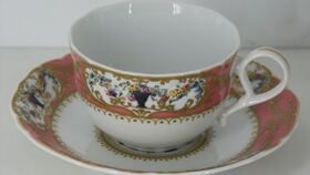 Image of a China Teacup and Saucer