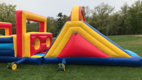 Image of a 40' obstacle course