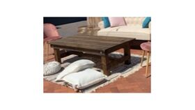 Image of a 3'x5' Rustic Coffee Table