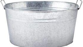 Image of a 5 Gallon Galvanized Tub
