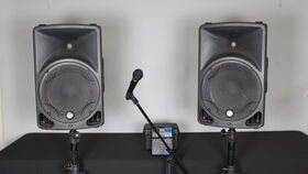 Image of a AV - Medium PA System - 50-100 ppl