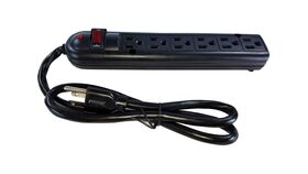 Image of a 6 Outlet Powerstrip