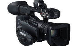 Image of a Canon XF205 Professional Camcorder