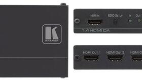 Image of a Kramer 1:4 HDMI Distribution Amplifier