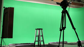 Image of a In-Studio Production and Live Streaming Event Package (Approx. 1 hr Event Plus .5 Hour Pre-show)