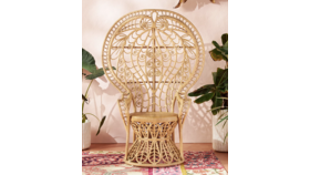 Image of a *COMING SOON* Plumage Peacock Chair