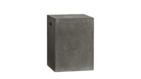 Image of a Concrete Stool End Table